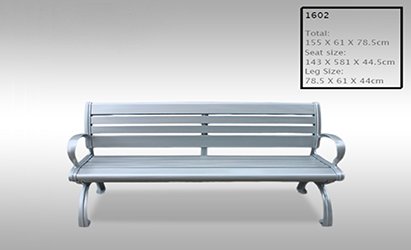 Aluminium Bench Seat - Model 1602 Product