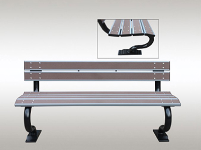 Artificial Timber Bench Seat - Model 1702