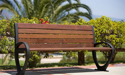 Oakley Outdoor Bench Seat - BZY-02-01