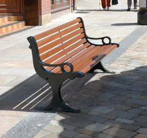 Zodiac Outdoor Bench Seat - Model BZY-07-01