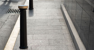 Cloud bollard range - Model BLZ-10-01